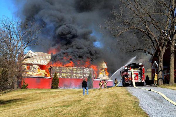 barn fire a