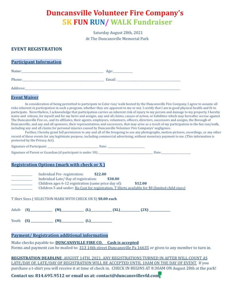 color run registration
